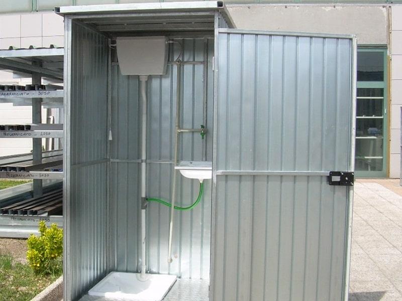 cabina modulare centro scaffalature